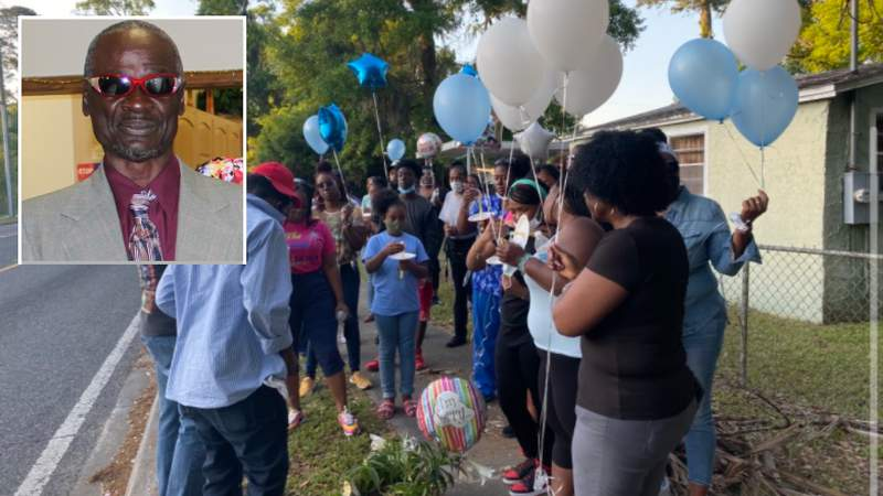 Vigil held for 65-year-old man killed in Jacksonville hit-and-run