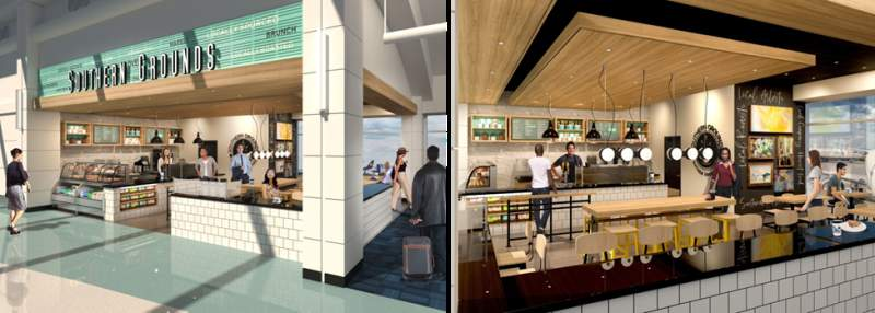 Southern Grounds Set to Open at Jacksonville International Airport. In addition to Southern Grounds, Florida-based BurgerFi will open at a later date in the airport's Concourse B.