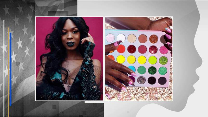 Paving the way: First trans woman of color in the U.S. to launch beauty brand has local ties