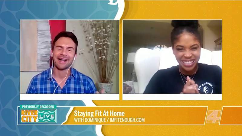 Staying Fit At Home   River City Live
