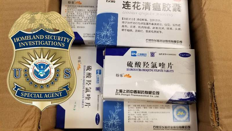 Federal agents seize counterfeit COVID-19 masks, medications, testing kits