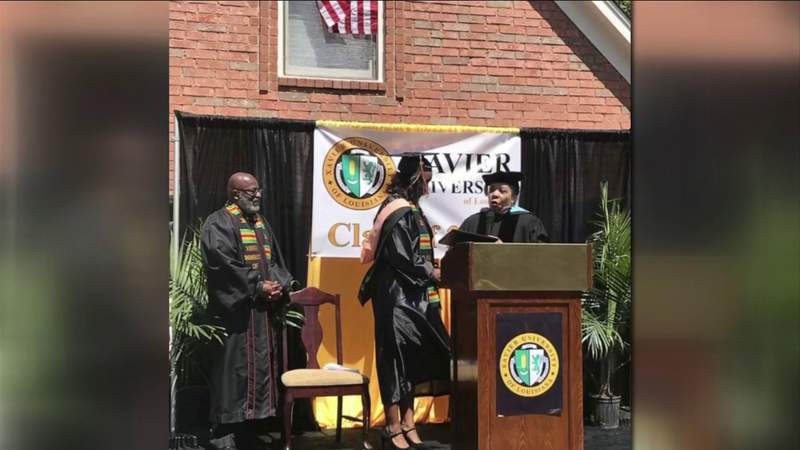 Tennessee father creates his own graduation stage for his daughter