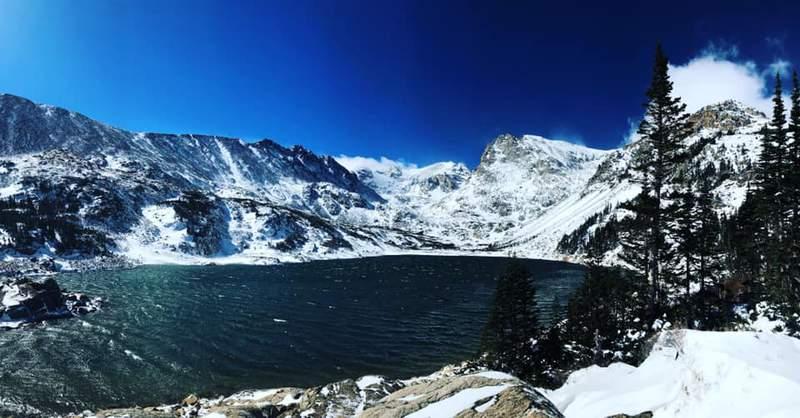 The Rocky Mountains of Colorado.