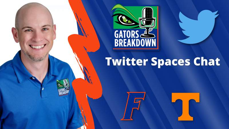 A chat with Gators Breakdown's David Waters ahead of Florida vs Tennessee
