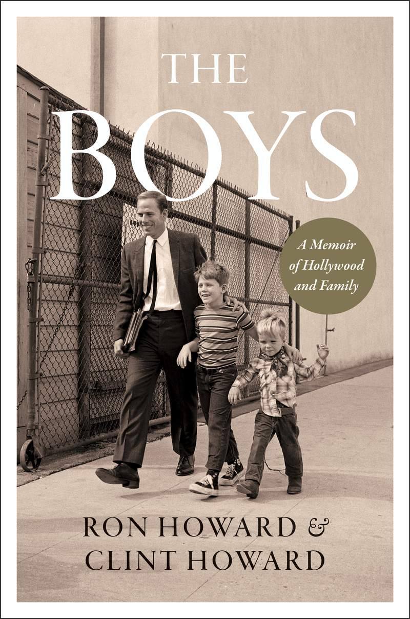 "This image released by William Morrow shows cover art for the upcoming memoir ""The Boys: A Memoir of Hollywood and Family"" by Ron Howard and Clint Howard. It's scheduled to come out Oct. 12. (William Morrow via AP)"