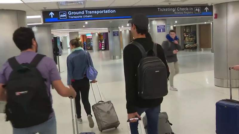 American citizens continue to return from Europe at Miami International Airport
