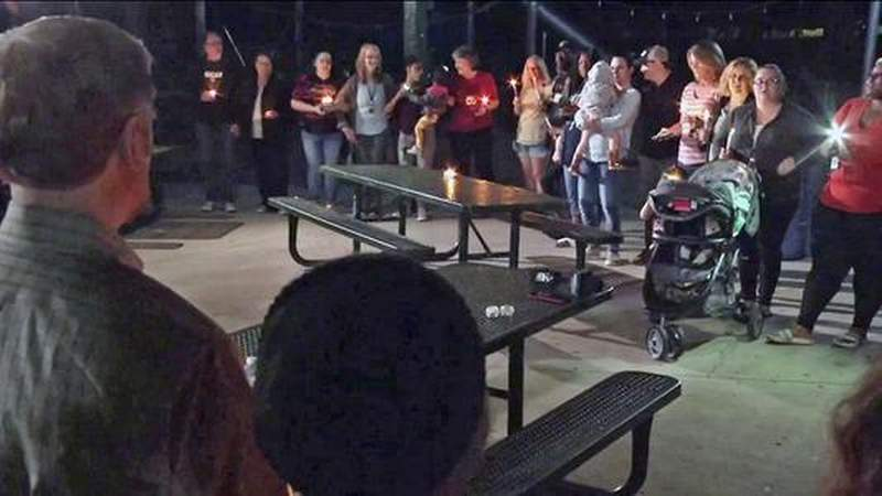 GF Default - 5-year-old Taylor Rose Williams honored at Jacksonville candlelight vigil