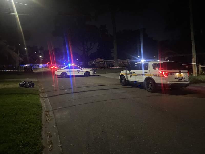 Photo from scene on Tulsa ROad