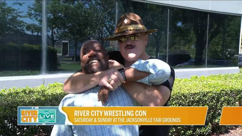 WWE Hall of Famer Sgt. Slaughter Joins Us for River City Wrestling Con   River City Live