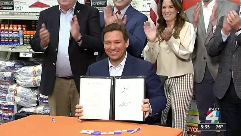 DeSantis touts 'Freedom Week' as he signs bill to OK 3 sales tax holidays for 2021