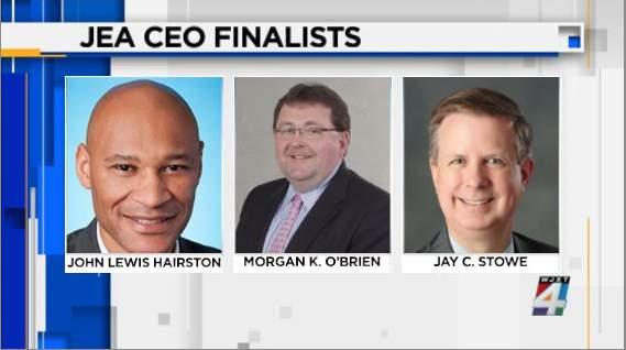 JEA CEO finalists