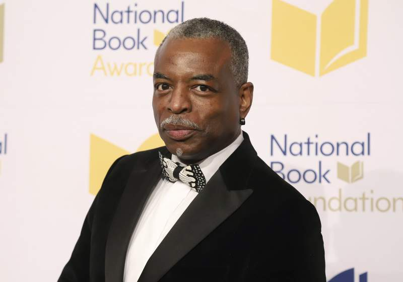 "FILE - LeVar Burton attends the 70th National Book Awards ceremony in New York on Nov. 20, 2019. Burton will serve as guest host on the game show ""Jeopardy!"" (Photo by Greg Allen/Invision/AP, File)"