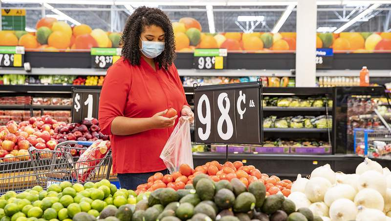 Shoppers at Walmart and Sam's Club stores will be required to wear masks starting July 20, 2020.
