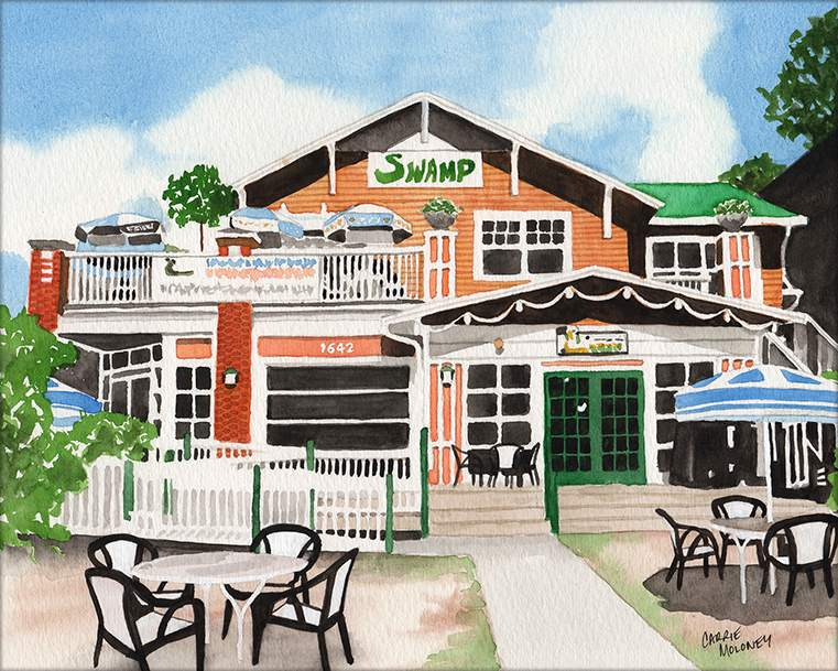 The Swamp Restaurant will return to Gainesville in 2022 in a newly-constructed building in the likeness of the original landmark.
