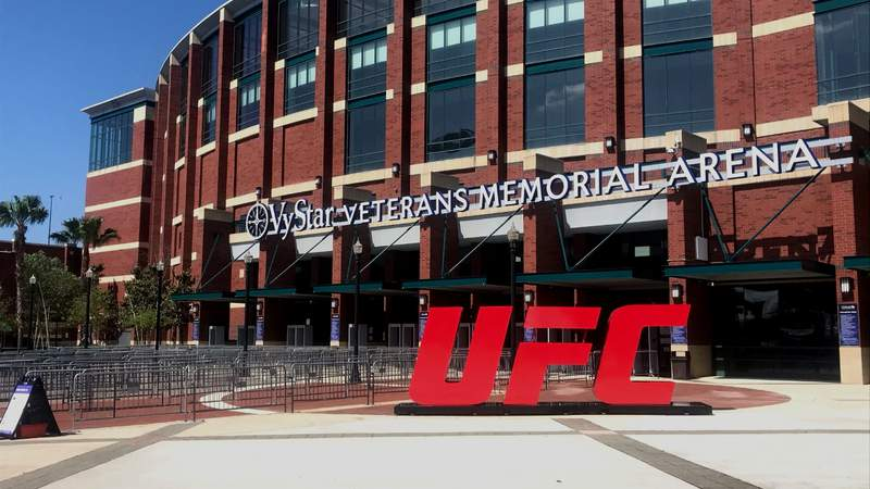 UFC 261 at VyStar Veterans Memorial Arena in Jacksonville brought in nearly $18 million in economic impact to the city.