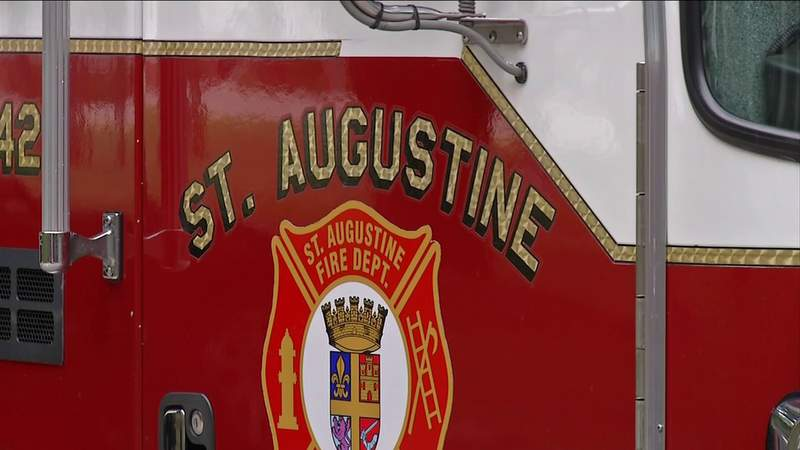 St. Augustine Fire Department splits up crews to limit exposure to COVID-19