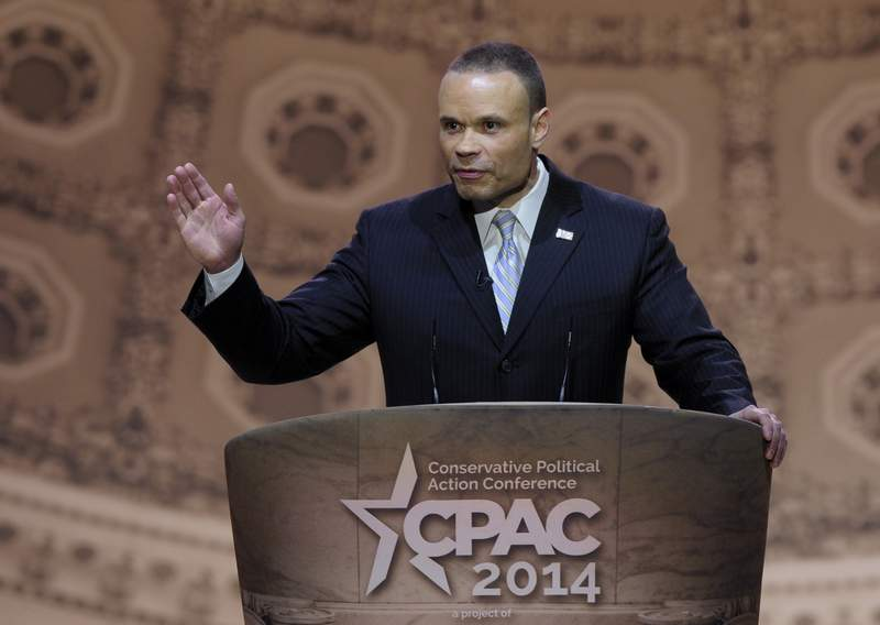 FILE - Conservative commentator Dan Bongino speaks at the Conservative Political Action Committee annual conference in National Harbor, Md., on March 6, 2014. Bongino has been tapped to host a radio show in the same afternoon time slot as the late Rush Limbaughs radio show, Cumulus Medias Westwood One announced on Wednesday. Limbaugh, the influential, controversial and immensely popular conservative pundit, died in February at the age of 70 after he lost his battle to stage 4 lung cancer. (AP Photo/Susan Walsh, File)