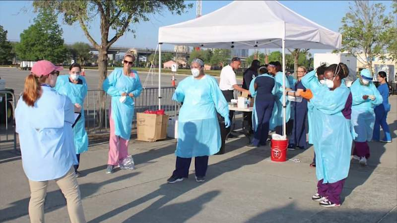 Local health care workers having hours cut