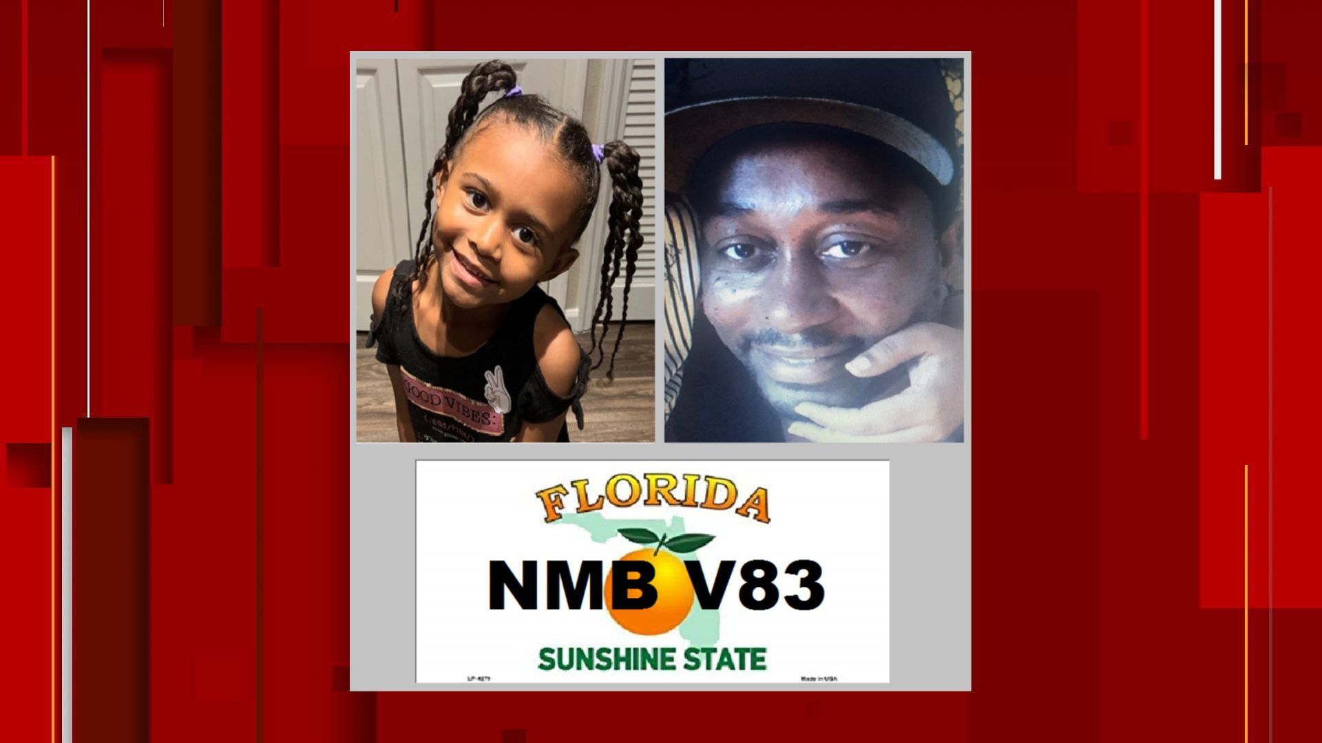 Missing 6-year-old girl, her father found safe