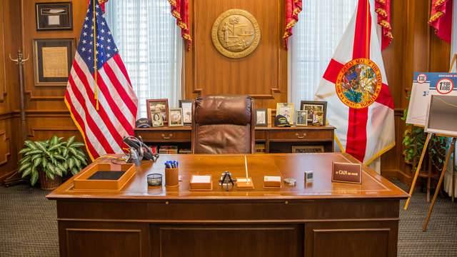 Florida governor's desk