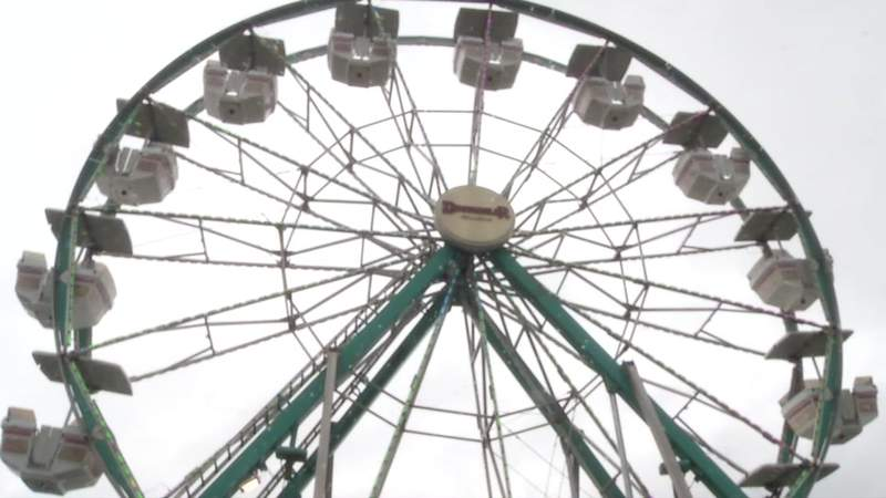 There was even a Ferris wheel this weekend at the Clay County Fairgrounds.