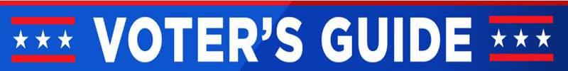 Voter's Guide banner