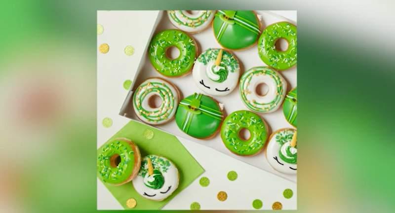 Krispy Kreme offering festive donuts through St. Patrick's Day