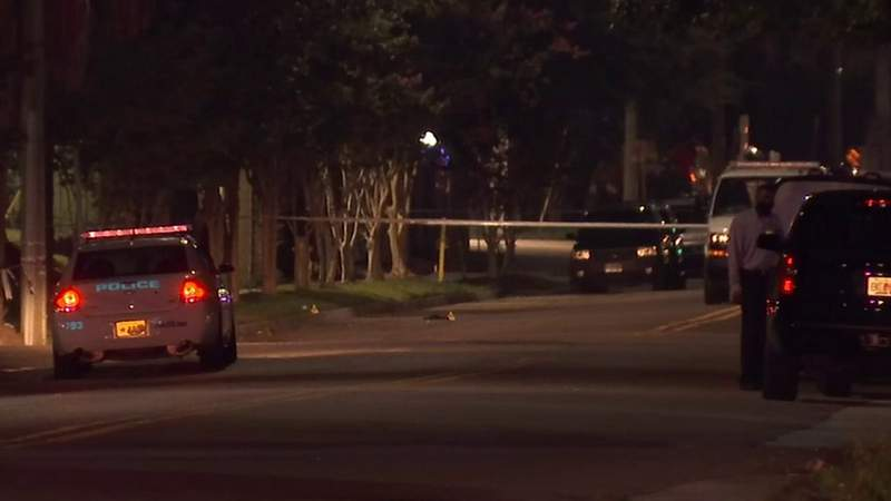 4 hospitalized in shooting on North Liberty Street