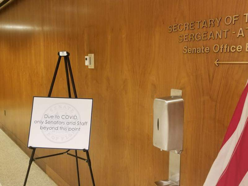 The Florida Capitol is expected to remain largely closed to the public for the rest of the legislative session because of the COVID-19 pandemic.