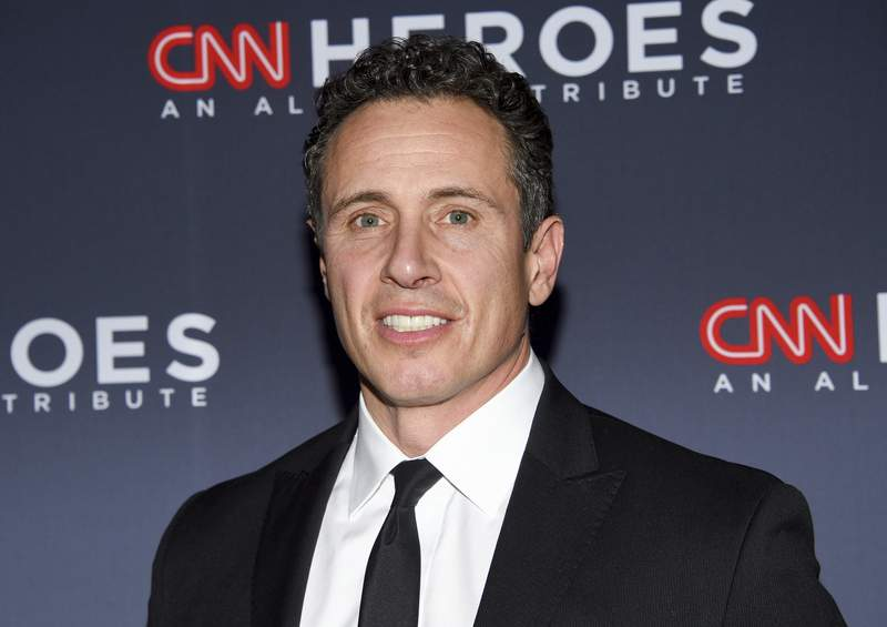 FILE - In this Dec. 8, 2018 file photo, CNN anchor Chris Cuomo attends the 12th annual CNN Heroes: An All-Star Tribute at the American Museum of Natural History in New York. Cuomo appeared to offer advice on a statement by his brother, New York Gov. Andrew Cuomo, addressing allegations of sexual harassment, according to a report issued on Tuesday, Aug. 3, 2021. The CNN prime-time personality testified to investigators looking into his older brothers behavior. (Photo by Evan Agostini/Invision/AP, File)