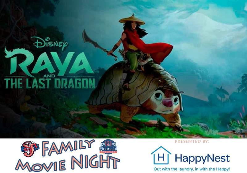 Jumbo Shrimp to host 'Raya and the Last Dragon' family movie night