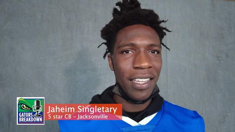 Jaheim Singletary talks Gators