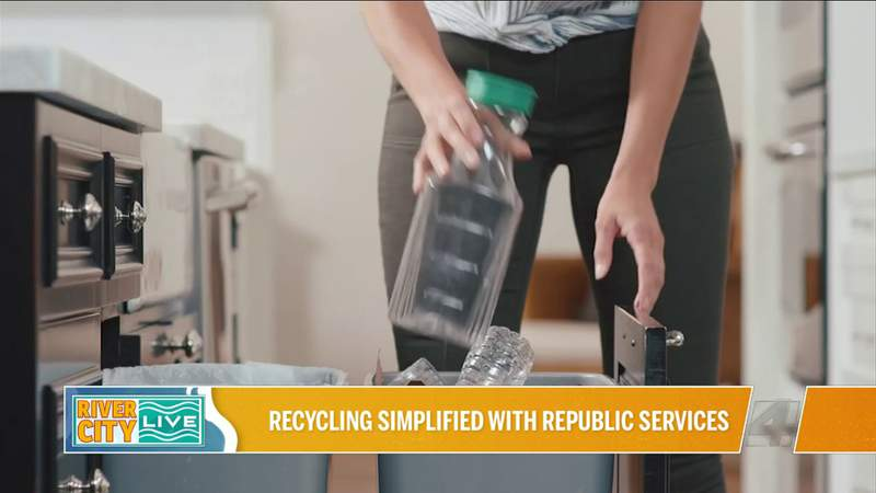 Recycling Simplified with Republic Services | River City Live