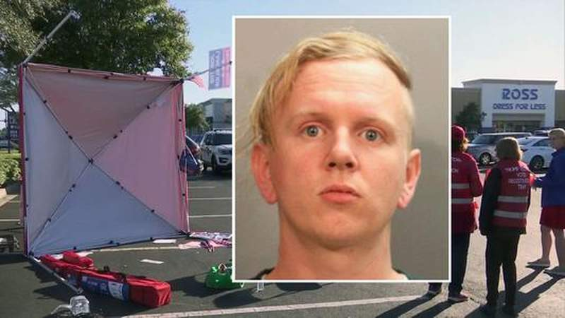 Man driven by dislike of President Trump in GOP tent attack, report shows