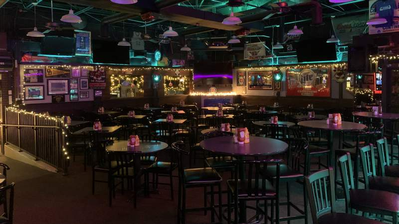 Like many sports bars around the country, RJ's in suburban Detroit sits empty and faces long-term uncertainty with sports sidelined by the coronavirus pandemic. Contributed photo