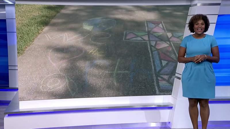 Force 4 Good: Sidewalk Art for Police Officers