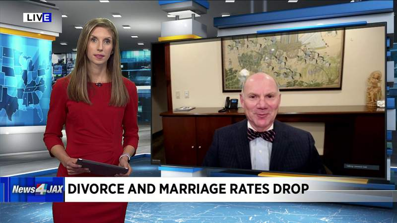 Divorce and Marriage Rates Drop