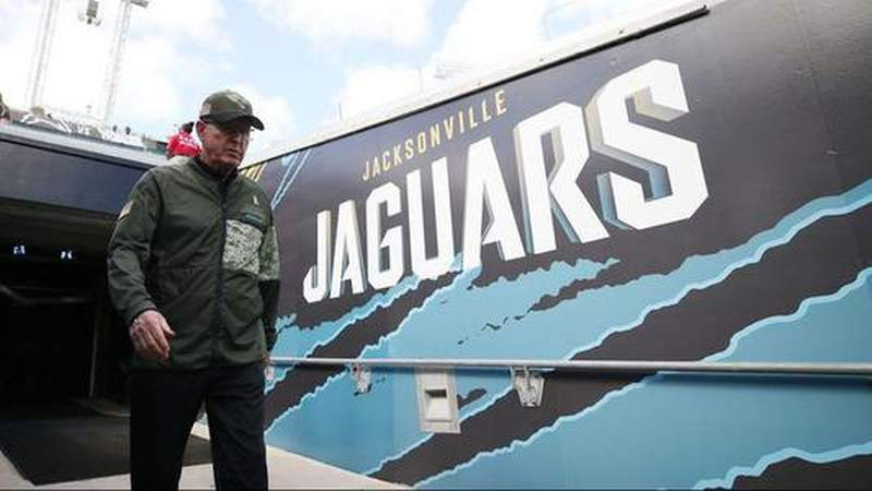 The Jaguars have fired the team's Executive Vice President Tom Coughlin