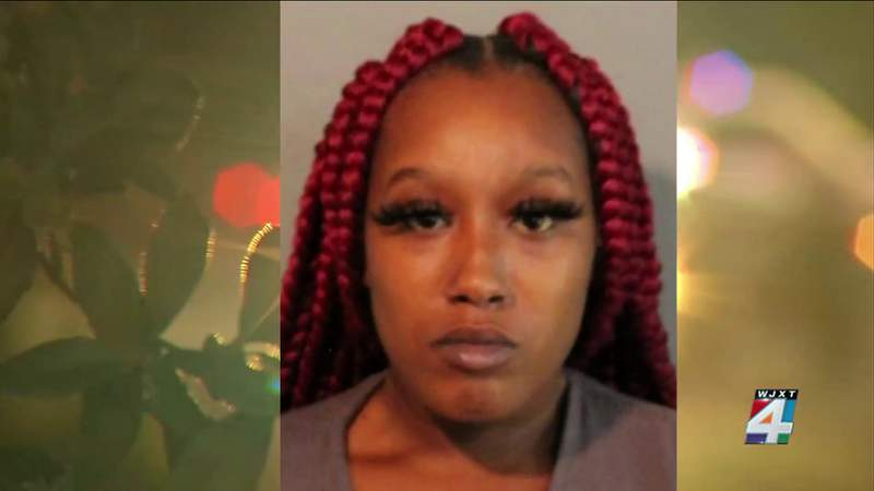 Woman charged with assaulting Jacksonville officer in viral video