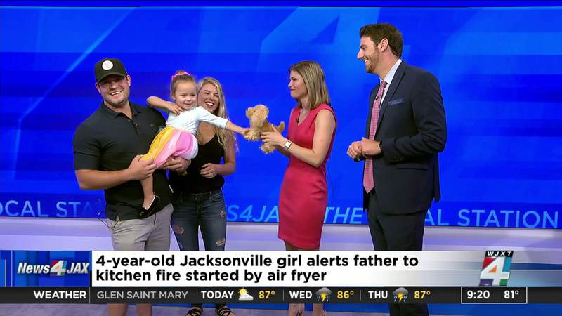 4-year-old applauded on The Morning Show