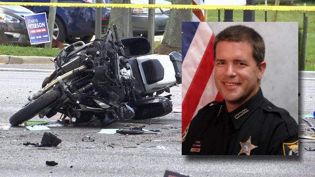 Clay County Deputy Ben Zirbel as injured Sunday in an on-duty motorcycle crash.