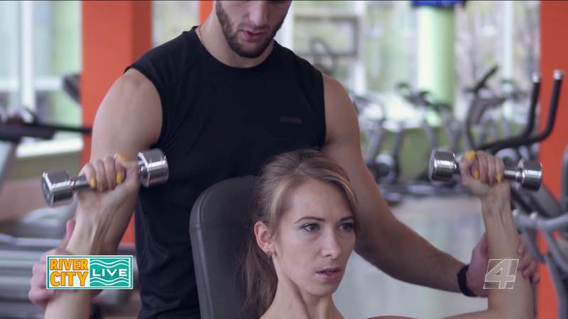 Working Out Via Zoom | River City Live