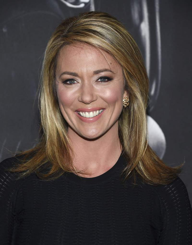 """FILE - CNN news anchor Brooke Baldwin attends the premiere of """"Molly's Game"""" on Dec. 13, 2017, in New York. CNN says it is shifting its daytime and weekend schedules after afternoon anchor Brooke Baldwin announced she was leaving in April.  (Photo by Evan Agostini/Invision/AP, File)"""