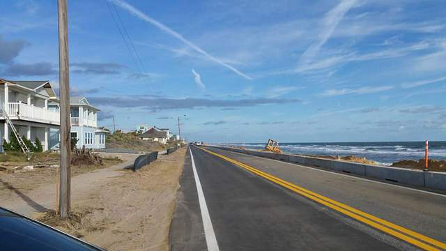 A1A south in Flagler Beach reopens (Photo courtesy: Flagler County Sheriff's Office)