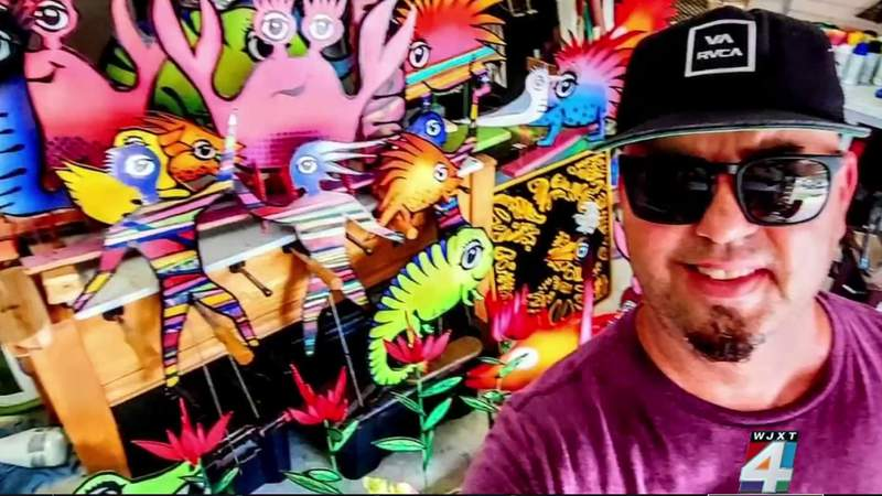 One local artist is brightening up the River City with art