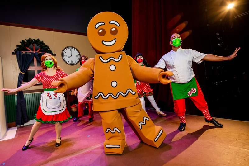 Original musical stage show, The Very Merry Mix Up