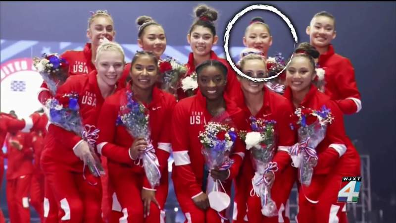 US Olympic gymnastics alternate tests positive for virus