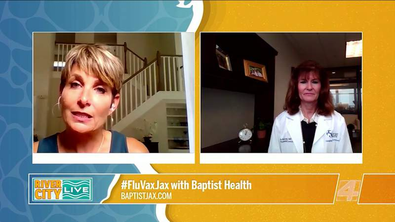 #FluVaxJax with Baptist Health | River City Live