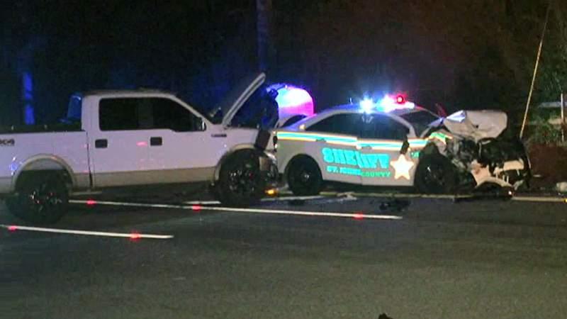 St. Johns County deputy injured in crash
