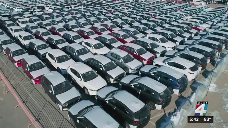 Used car prices soar